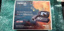 Nokia N93 - Black  (Unlocked) Smartphone