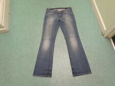 "Citizens Of Humanity Low Waist Bootcut Size 31 L34"" Faded Dark Blue Ladies Jeans"