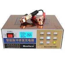 Car motore Battery Charger 12V/24V 100AH desulfator