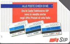 40-Scheda telefonica SIP Alle poste chiedi di me scad.12/1995 lire 5.000