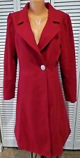 NWT Womens Myrtlewood Fall in Love Winter Coat Knee Length Red Size XS