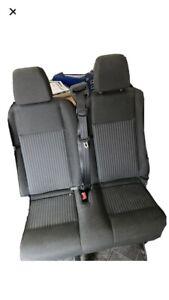 rear van seats with seat belts