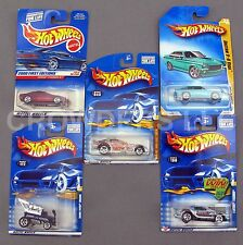 Hot Wheels 5 Car Lot Pontiac Firebird Funny Car Radio Flyer V-8 Vega Charger R/T