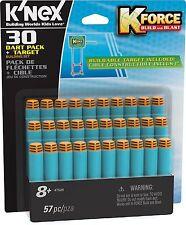 K'NEX KNEX K Force 30 Dart Pack e obiettivo FIT tutti K-FORCE Blaster 8 ANNI + NUOVO