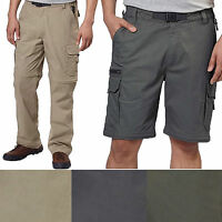 SALE BC Clothing Mens Convertible Stretch Cargo Hiking Active Pants Shorts S-XXL