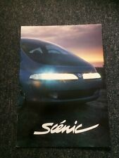 RENAULT SCENIC CONCEPT CAR BROCHURE 1991 - FRENCH