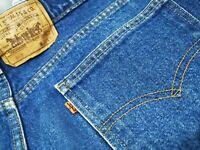 *HOT VINTAGE 90's USA LEVI'S 517 #575 BOOTCUT ORANGE TAB Jeans 38x31(Fit 35 x30)