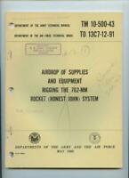 Vietnam War 1968 Army Technical Manual Book 762mm Rocket Honest John Honeycomb