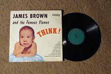 JAMES BROWN & THE FAMOUS FLAMES THINK! MEGA RARE ORIGINAL CANADIAN PRESSING