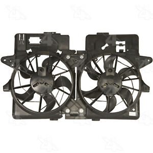 Dual Radiator and Condenser Fan Assembly-Rad / Cond Fan Assembly 4 Seasons 76167