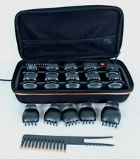 Heated Ceramic Styling Shells Hair Pagent Curlers w Case TopStyler by InStyler