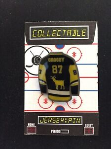 Pittsburgh Penguins Sidney Crosby jersey lapel pin-Collectable-Hockey GOAT!