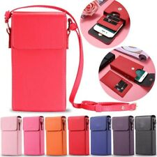 "FLOVEME Handbag Shoulder Bag Neck Strap Wallet Pouch Purse Case for 6"" Phones"