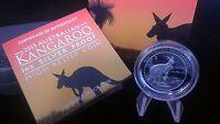 Australia 2013-P S$1 Silver Kangaroo - High Relief Proof Coin Australian