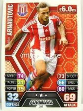Match Attax 2013/14 Premier League - #267 Marko Arnautovic - Stoke City