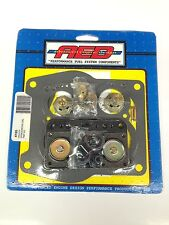AED 4165 Holley Spreadbore Double Pumper Carburetor Rebuild kit 650-800 -NEW