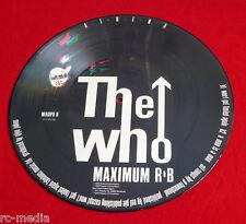 "THE WHO - Athena - Rare Original UK 12"" Picture Disc /  ""Maximum R 'n' B"""