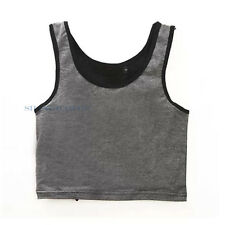 Lesbian Les Breast Chest Binder FTM Crop Vest Tomboy Tank Bandage Undershirt 009