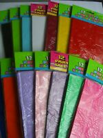 PAPER PARTY(Loot)BAGS 16 Colour Range {fixed £1 UK p&p}