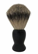 NEW HAND-CRAFTED SILVERTIP BADGER HAIR SHAVING BRUSH *RARE* - RRP £64.99