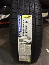 4 New 215 60 17 Michelin Defender XT Tires