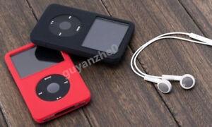 Silicone Skin Cover Case for iPod Classic Video 5/5.5th 30GB 120GB 160GB THIN X2