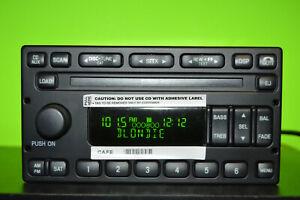 05-07 Ford Escape Mariner factory AM FM 6 disc CD player radio 6L8T-18C815-AD