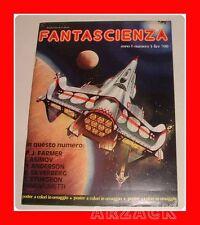 FANTASCIENZA 1 Ennio Ciscato editore 1976 ASIMOV FARMER SILVERBERG con Poster