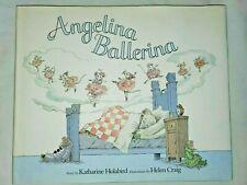 Angelina Ballerina By Katharine Holabird AMERICAN GIRL Hardcover Dust Jacket