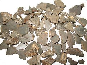 NWA stone meteorite fragments slices 50g 50 gram lots nice chondrite pieces