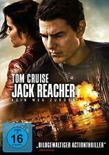 JACK REACHER: KEIN WEG ZURÜCK  CRUISE,TOM/SMULDERS,COBY/+  DVD NEW