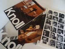 Möbel Design KNOLL Mappe Kataloge Messekataloge Verkaufsunterlage 80er Jahre