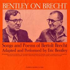 Eric Bentley - Bentley on Brecht: Songs & Poems of Bertolt Brecht [New