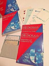 Digital Research DR DOS 6.0 Manuals 5 1/4 Disks 1.2 MB 1991 Unused Out of Box