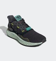 524b2dd5338 Adidas ZX 4000 4D Carbon Black Size 11.5 US Men s In Hand Deadstock ...