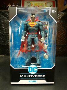"DC Multiverse DC Rebirth Superman Bizarro 7"" Action Figure. Nice Brand New Box"