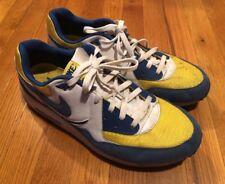 Mens Nike Air Max Light Blue,yellow,white Size 13 Retro