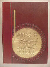 Lambeth Method of Cake Decoration - 1950 ~ 2nd Printing ~ Joseph Lambeth ~ nice