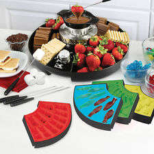 3-In-1 Chocolate Melter, Fondue Set, Marshmallow Roaster & More Treat Maker