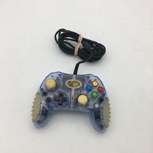 Mad Catz Micro Clear Original Microsoft Xbox Wired Controller Turbo