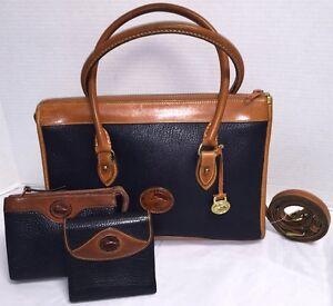 Vintage Dooney & Bourke~AWL*R21*Shoulder Satchel/Cosmetic Case/Wallet*Briefcase