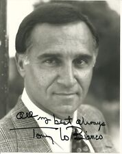 Tony Lo Bianco AUTOGRAPHED 8X10 Signed Photo Black & White Picture Movie TV Star