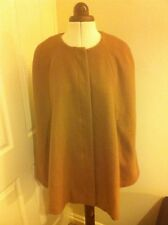 Stunning Sara Kelly caramel wool cape size 12