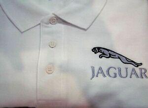 Polo shirt with Embroidered Jaguar Logo