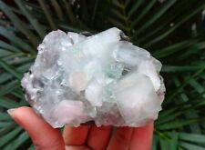 Apophyllite Crystals w/ Stilbite On Matrix Minerals Specimen #A5