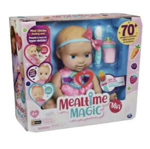 Luvabella Interactive Mealtime Magic Blonde Hair Mia BRAND NEW IN BOX