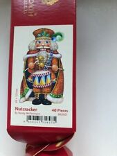 WENTWORTH Wooden Jigsaw Christmas Themed Puzzle-40 x Pieces - Nutcracker