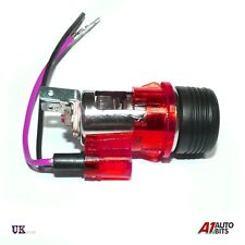 Red Cigarette lighter PLUG & SOCKET for AUDI A2 A3 A4 A6 80 100 200 New