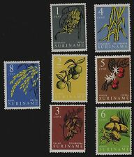 SURINAME  SCOTT# 284-290  MNH  AGRICULTURAL PRODUCTS OF SURINAME