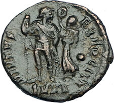 ARCADIUS crowned by Victory 395AD Cyzicus Authentic Ancient Roman Coin i65875